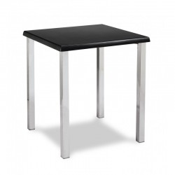 Tables empilables bois plastique et m tal chaisestables for Table exterieur 40x40