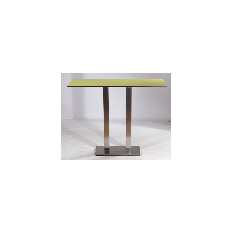 Table haute inox cheap table haute terrasse table haute for Table haute exterieure