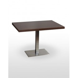 Table NOEL RECTANGULAIRE INOX BASE 60X40 CM