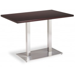 TABLE NOEL DOUBLE INOX BASE 75X40 CM