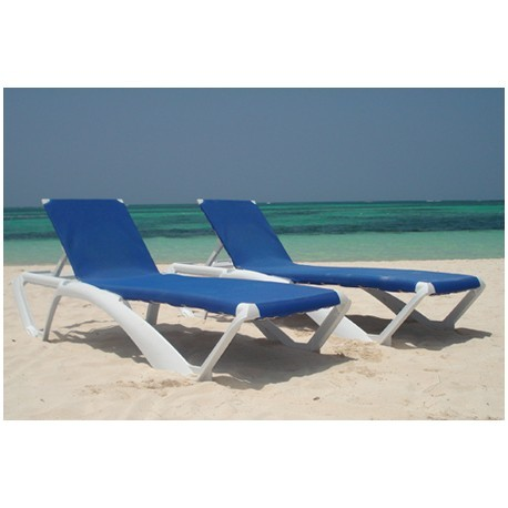 Chaise long bain de soleil pour piscine marina lot de 25 for Transat de piscine