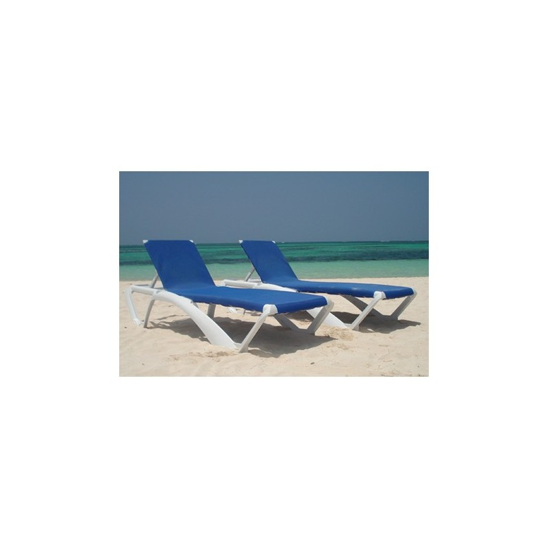 chaise long bain de soleil pour piscine marina lot de 25 unites pas. Black Bedroom Furniture Sets. Home Design Ideas
