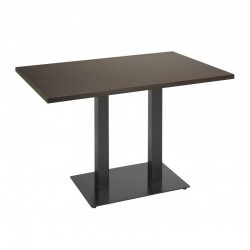 TABLE NOEL DOUBLE EPOXI BASE 75X40 CM