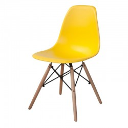 Chaise CASUAL jaune
