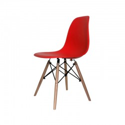 Chaise CASUAL rouge