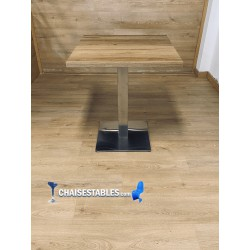 TABLE NOEL INOX BASE 45X45 CM